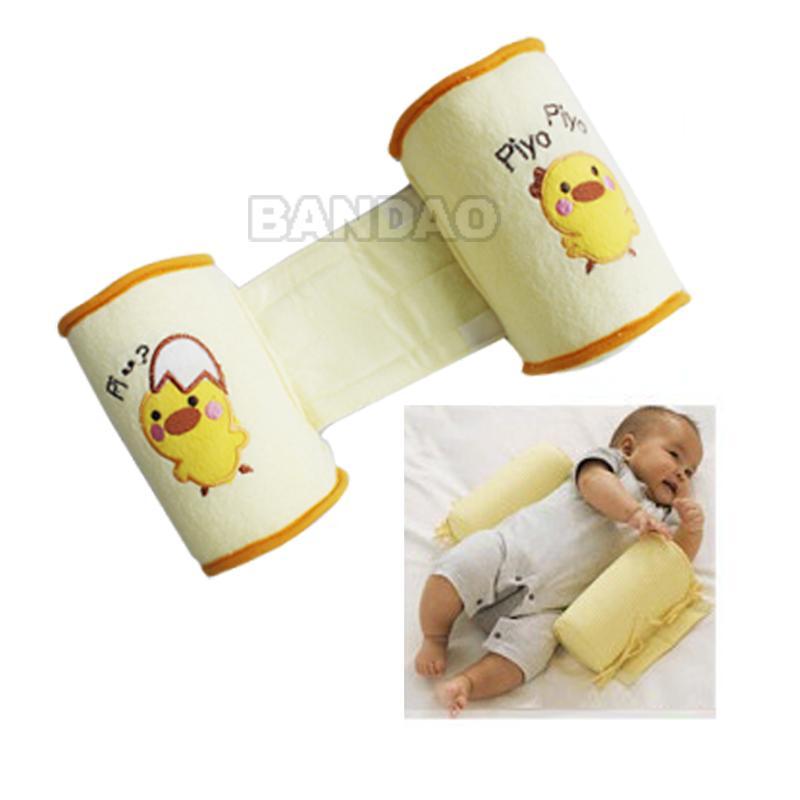 baby sleep pillow infant toddler shape correct flat head safe cotton anti roll ebay. Black Bedroom Furniture Sets. Home Design Ideas