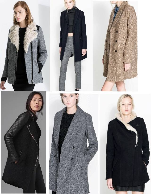Zara smart boyfriend urban chic fur line double breasted wool if you like this coat you may also like these other coats from zara stopboris Choice Image