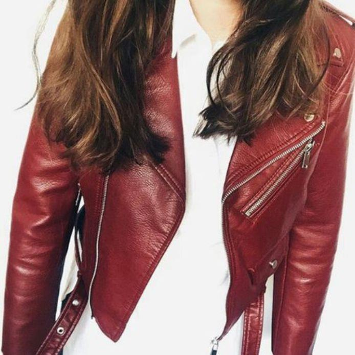 Zara leather jacket cost