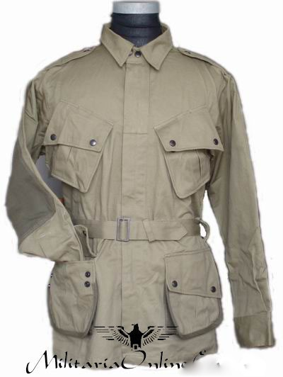 WWII-US-M42-Airborne-Jump-Uniform-with-Trousers-40R-42R-44R-46R-48R