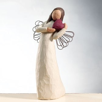 willow tree figurines angel of love the quilt anniversary. Black Bedroom Furniture Sets. Home Design Ideas