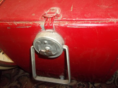 Vintage COCA COLA ICE CHEST COOLER RARE TURN LOCKS WITH BOTTLE OPENER