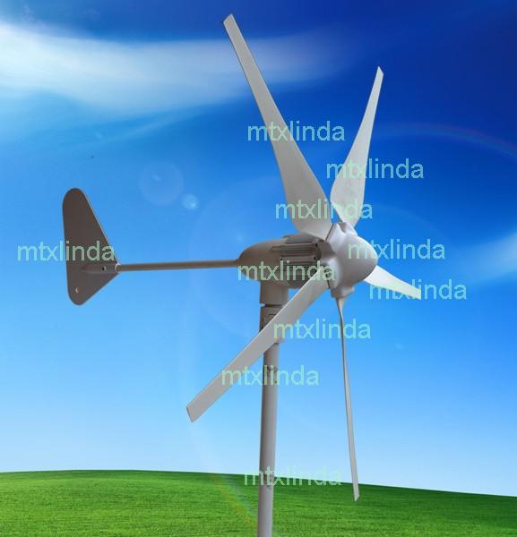 GIGU Wind Turbine Generator Kit 900W Max 3-phase AC PM 12V/24V Alternator NEW