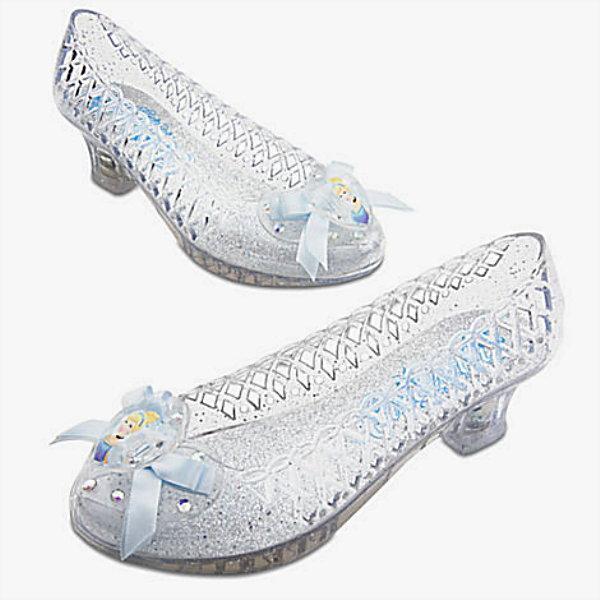 Cinderella Light Up Costume Shoes For Kids