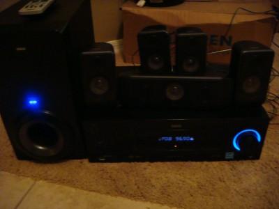 rca 1000 watt home theater 5 1 dolby digital sound ebay. Black Bedroom Furniture Sets. Home Design Ideas