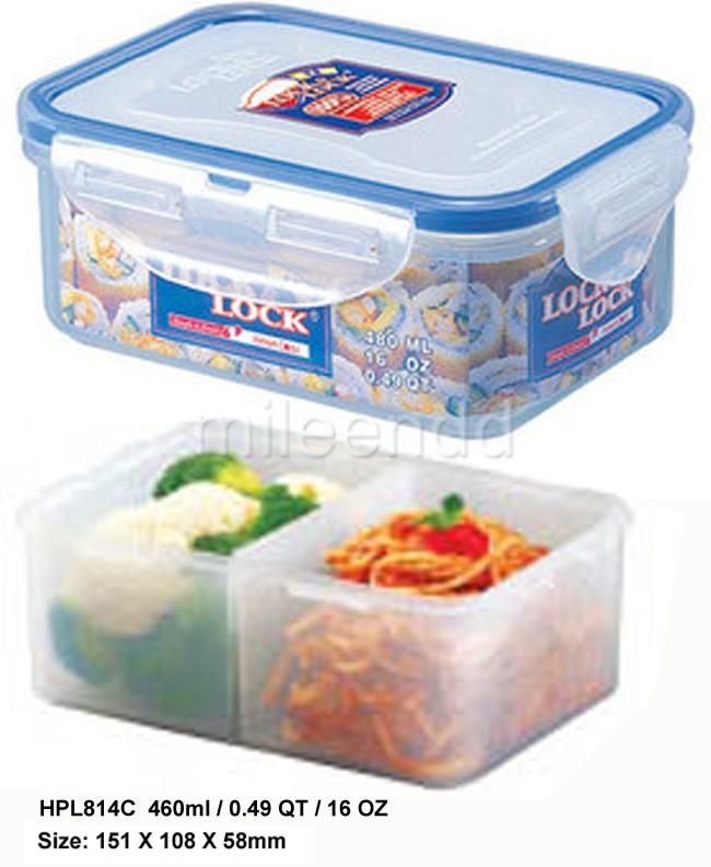LOCK-LOCK-460ML-RECTANGULAR-CONTAINER-DIVIDER-HPL814C