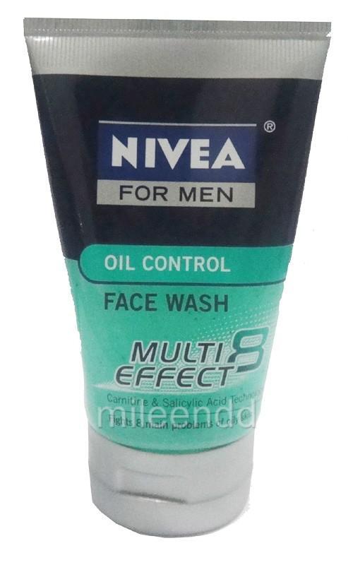 NIVEA FOR MEN 100ML OIL CONTROL FACE WASH MULTI EFFECT | eBay Nivea Face Wash For Men Oil Control