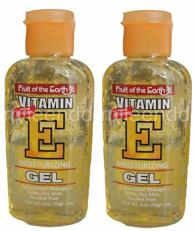 FRUIT-OF-THE-EARTH-2X-56G-2oz-VITAMIN-E-MOISTURIZING-GEL-NO-ALCOHOL-DRY-SKIN