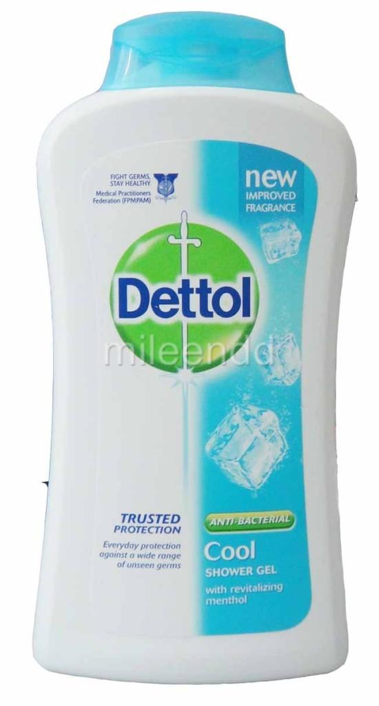 Menthol shower gel