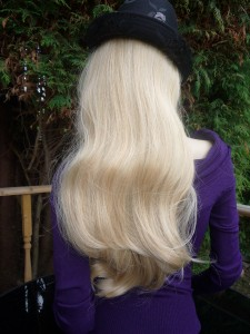 HAIR HALF WIG HAIRPIECE HONEY WHEAT LIGHT BLONDE WAIST ...