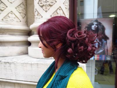 Hair extensions curly or messy drawstring updo full bun wine plum hair extensions curly or messy drawstring updo full bun wine plum burgundy mix1 pmusecretfo Image collections