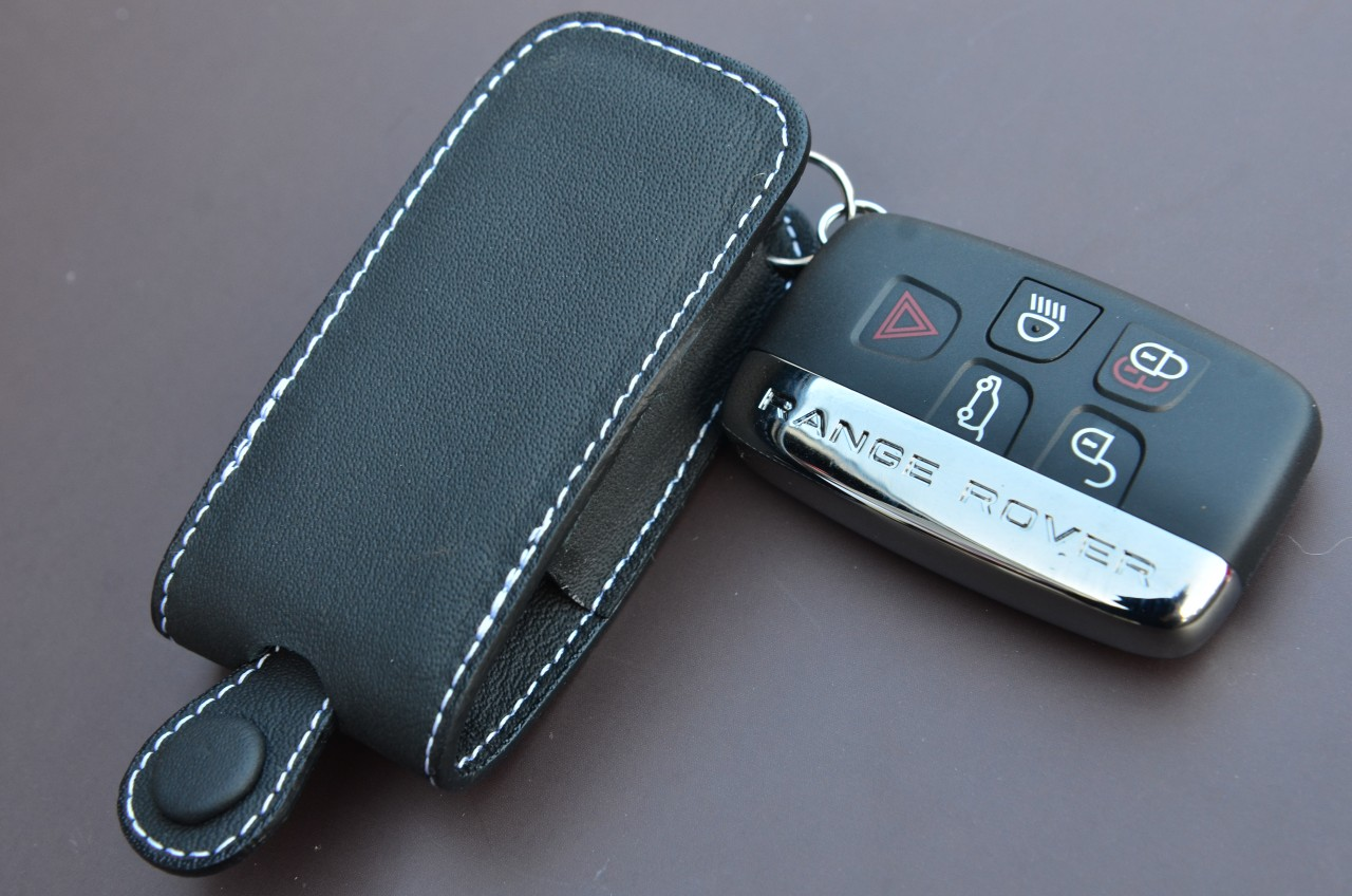 Range Rover And Land Rover Genuine Leather Key Case Ebay