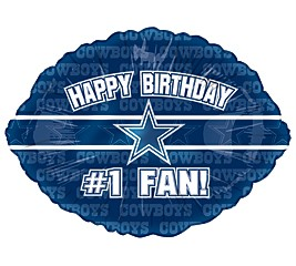 Happy Birthday #1 Fan ! with the Dallas Cowboys Star in the center