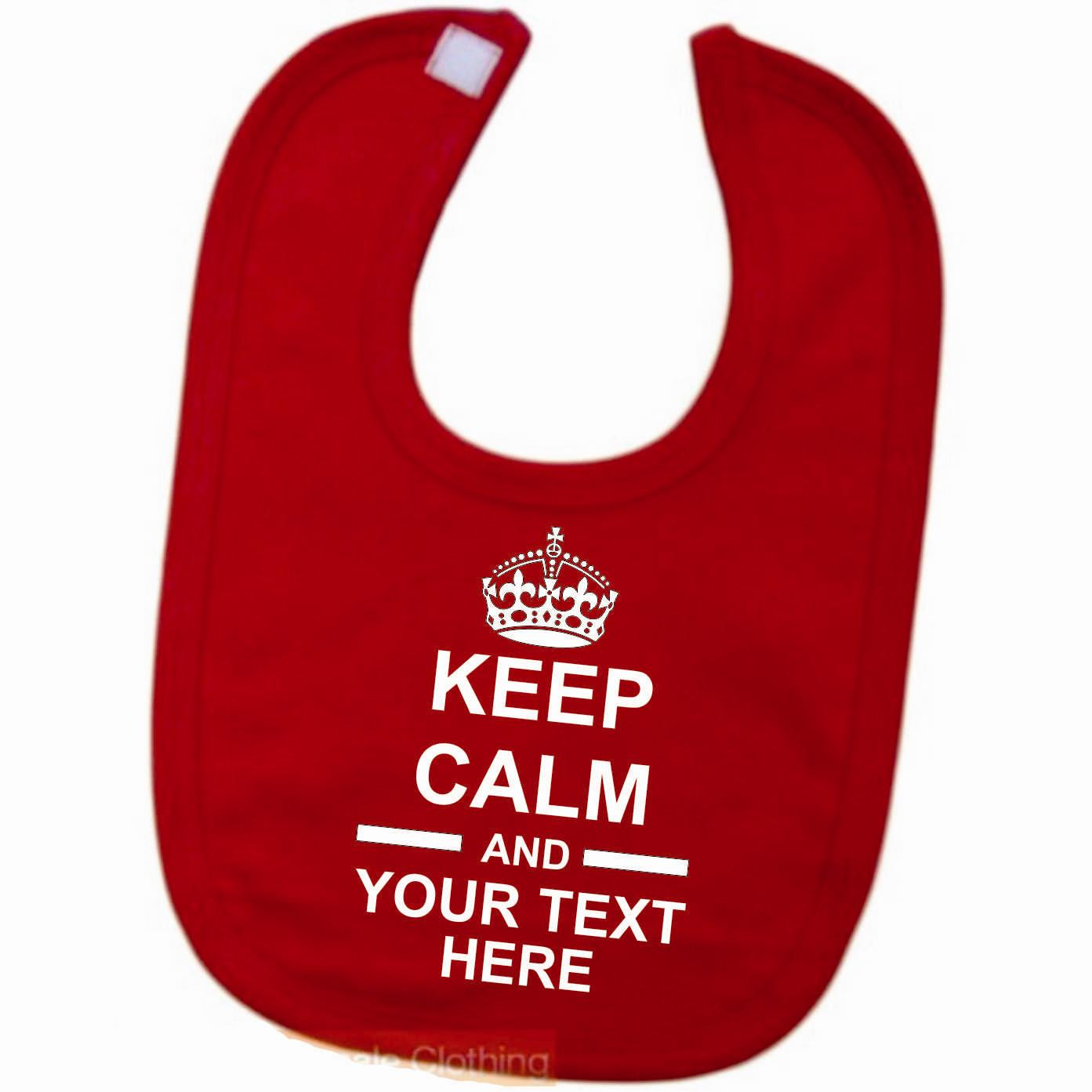 Keep-Calm-Your-Text-Personalised-Baby-Bib-Dribble-Catcher
