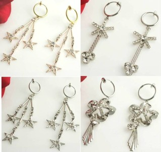 Details about 4 pairs silver clip on ball screw back earring findings