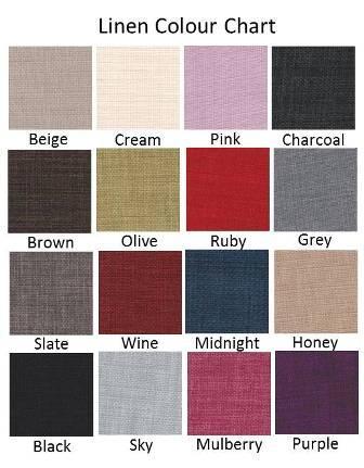 Linen Colour Chart