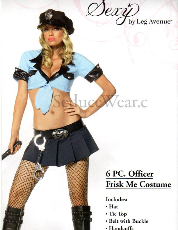 Cop stripper and police outdoor oficer of 6