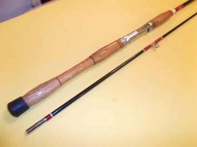 Vintage fishing rod montague 6560 6 fiberglass 2pc for Montague fishing rod
