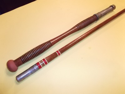Vintage bamboo fishing rod kingfisher 7 39 3 saltwater for Target fishing pole