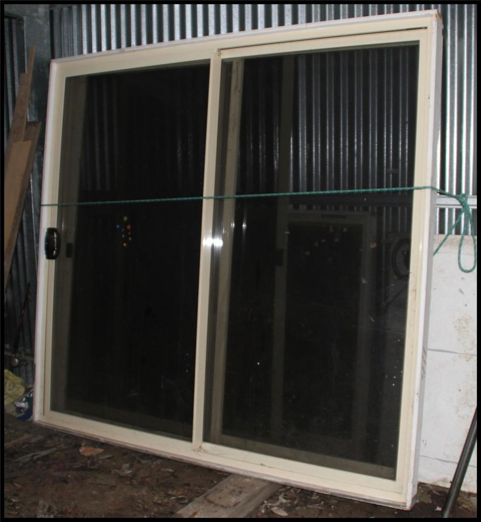 Sliding glass doors with locks keys gauze window ebay for Sliding glass doors locks