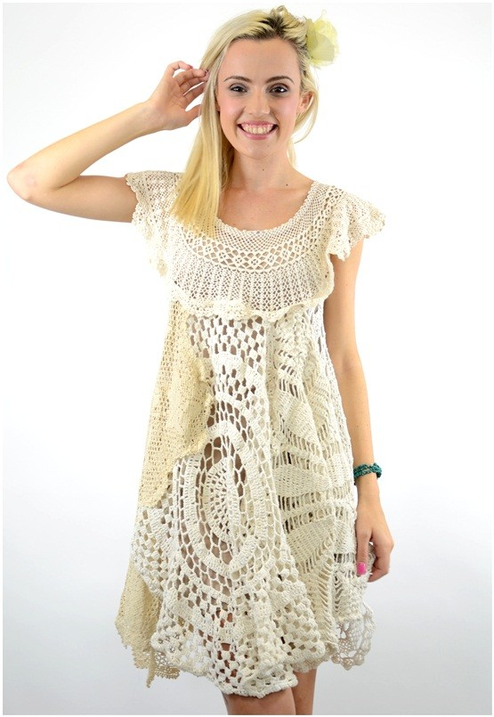 Plus Size Crochet Dress Pattern Pictures to pin on Pinterest