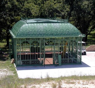 Large custom victorian style greenhouse conservatory ebay for Greenhouse styles