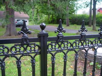 Victorian Style Cast Iron Fence Panel H18 Ebay