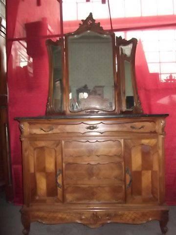 Details About VICTORIAN MARBLE TOP ANTIQUE WALNUT BEDROOM SET DRESSER