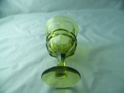 Fostoria Later Green Glass – Argus Vintage Stemware | Depression