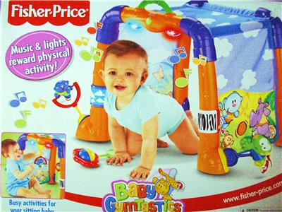 New Fisher Price Baby Gymnastics Musical Light Up Activity