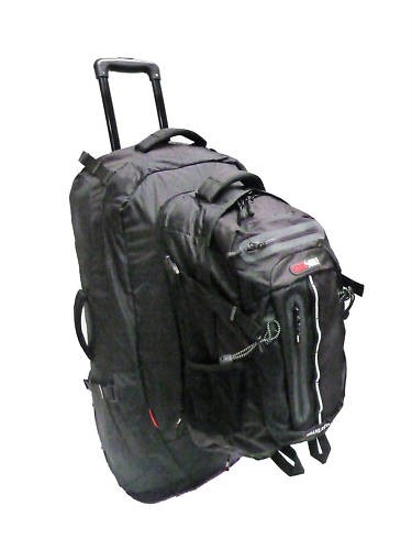 Blackwolf Grand Royale Rolling Travel Back Pack 75L