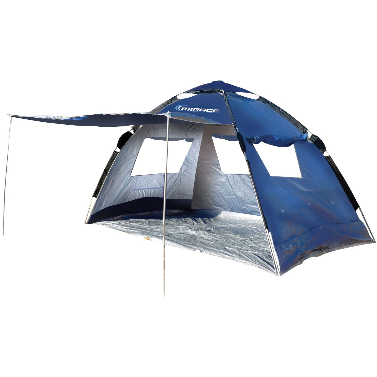 mirage eclipse beach tent shelter sun shade tent ebay. Black Bedroom Furniture Sets. Home Design Ideas