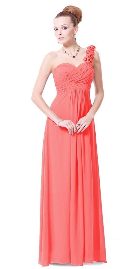 Coral Bridesmaid Dresses Uk Ebay 86