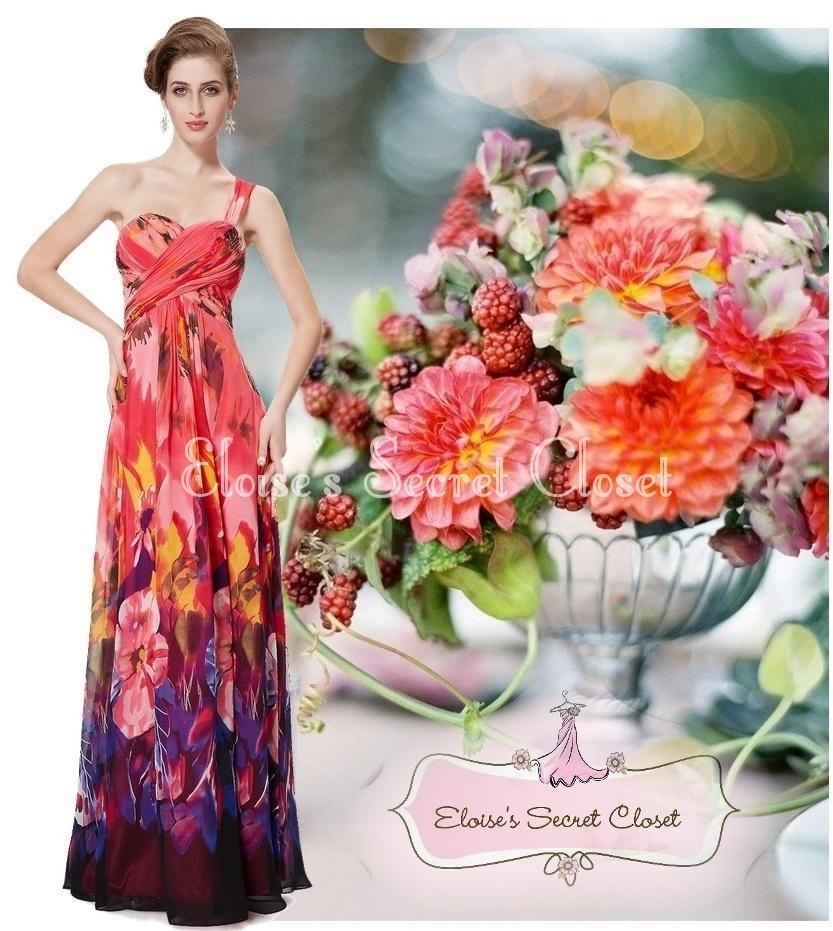 Hawaiian print bridesmaid dresses flower girl dresses for Wedding dress rental hawaii