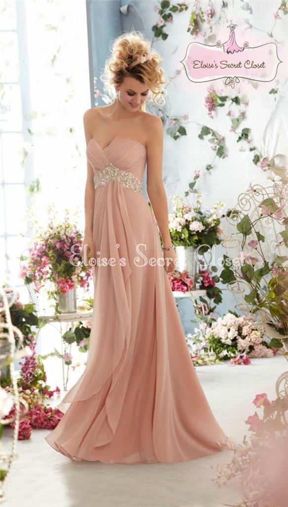 Dusky pink chiffon bridesmaid dresses uk flower girl dresses for Wedding dress rental atlanta