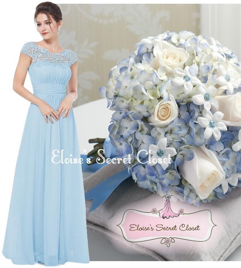 Katie baby blue lace full length maxi prom evening bridesmaid katie baby blue lace full length maxi prom evening bridesmaid dress ombrellifo Image collections