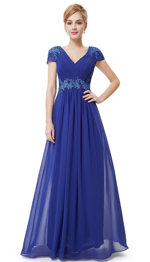 ... Blue Full Length Prom Evening Cruise Bridesmaid Dress UK 8 - 18 | eBay