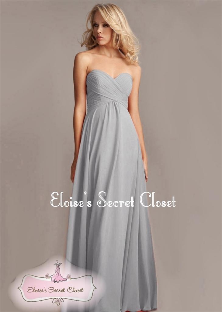 Grey maxi dress uk