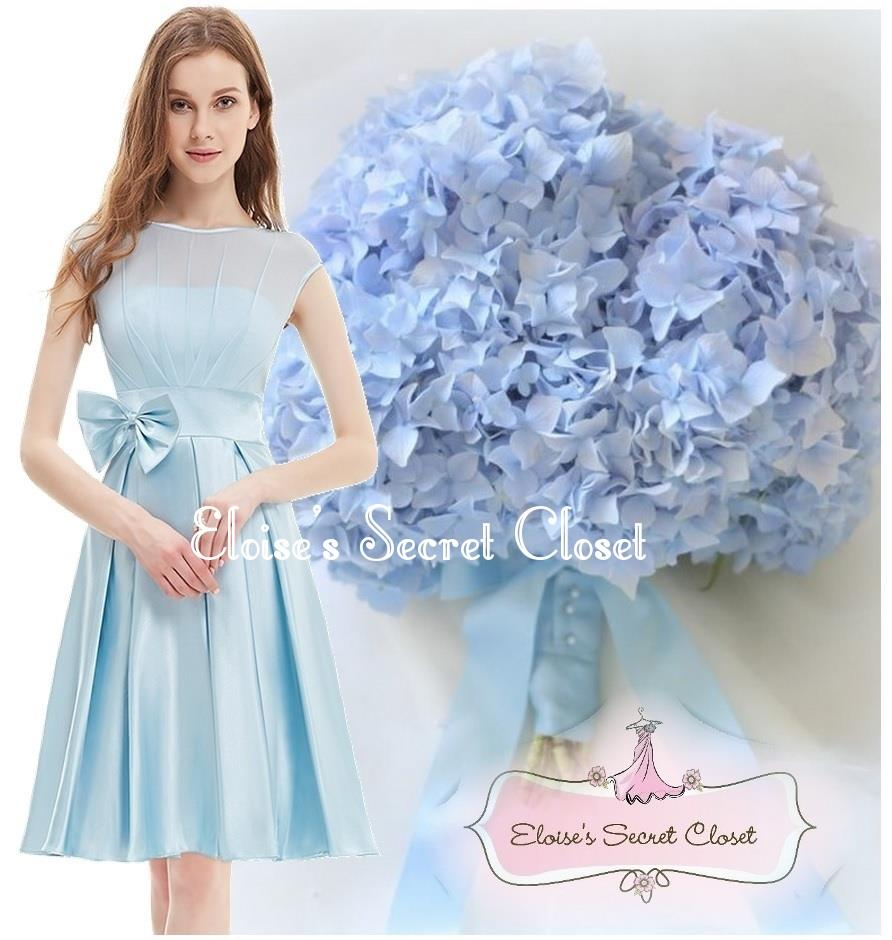 Hepburn baby blue 50s vintage inspired prom evening bridesmaid sale limited stock left ombrellifo Image collections