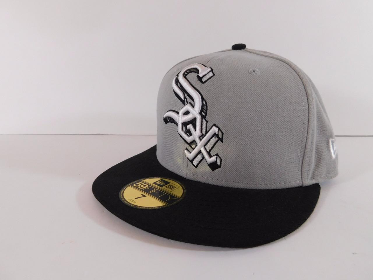 new era 59fifty 5950 chicago white sox mlb cooperstown. Black Bedroom Furniture Sets. Home Design Ideas