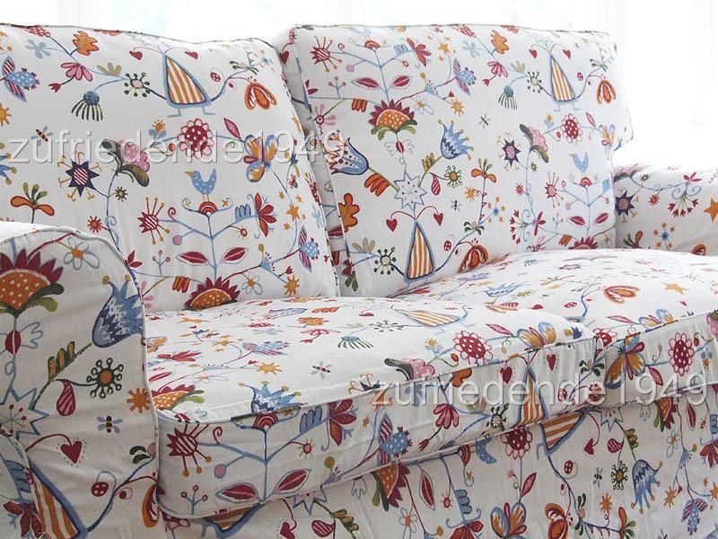 sofabezug ikea ektorp 2er schlafsofa blom ebay. Black Bedroom Furniture Sets. Home Design Ideas
