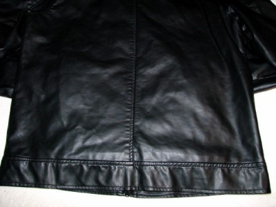 Guess Mens Leather Jacket Guess Men's Faux Leather