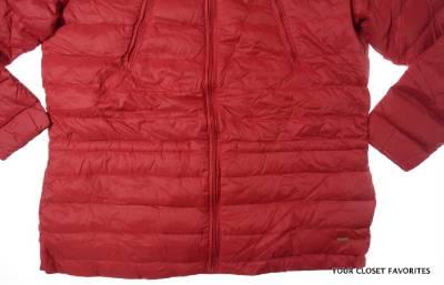 Ralph Lauren Womens Quilted Down Jacket 1x 3x Lightweight