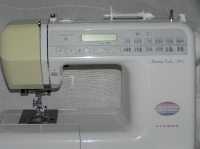 Janome memory craft 3000 computerised sewing machine very for Janome memory craft 3000
