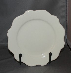 southern living at home gail pittman hospitality luncheon plates cream