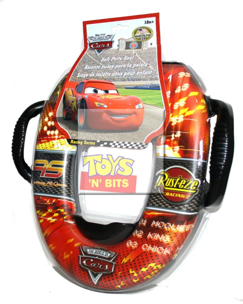 Cars Lightning McQueen Boys Toilet Potty Seat Cushioned : eBay