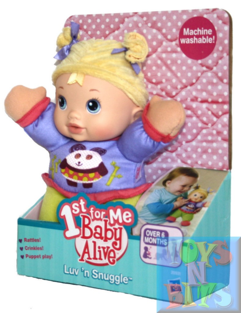 Baby Alive Luv N Snuggle Doll 1st First For Me Plush Ebay