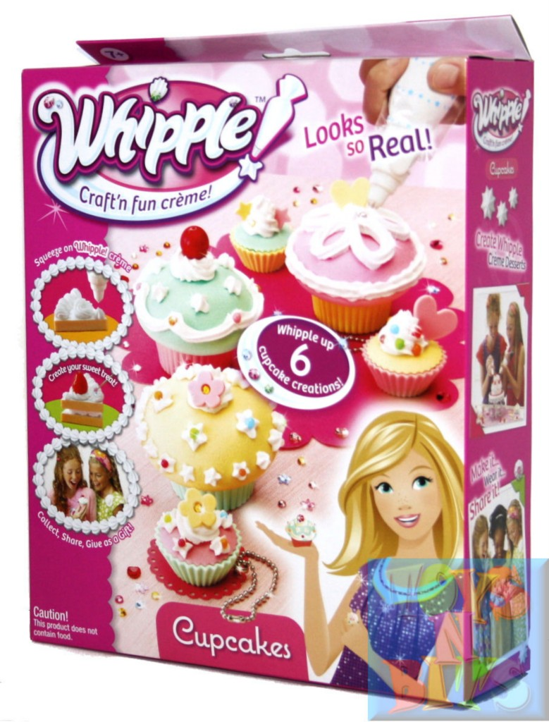 Whipple 6 cupcakes pack set winner craft toy of year in for Arts and crafts sets for toddlers