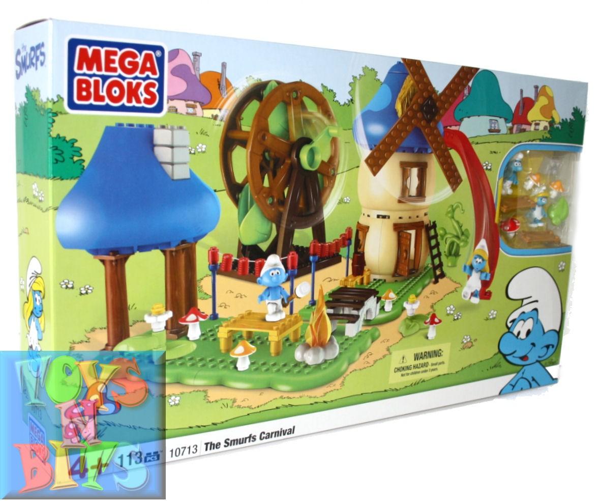 Mega-Bloks-The-Smurfs-Carnival-10713-Smurfette-113-Pcs