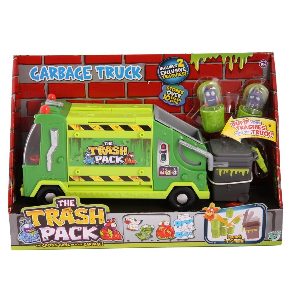 The-Trash-Pack-Garbage-Truck-2-Exclusive-Trashies-Stores-Carry-10-Wheelie-Bin
